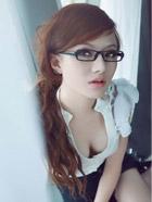 靓丽性感学生妹