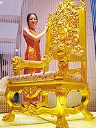 """盘点黄金打造的""""奇葩""""奢侈品"""