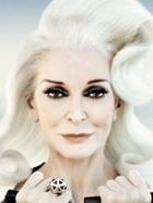 82岁白发超模时尚大片曝光 气场爆棚