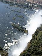俯瞰维多利亚大瀑布