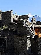 千年羌寨的神秘古堡