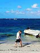 毛里求斯梦幻海岸风光