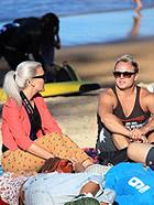 悉尼:玩一把沙滩上的春光乍现