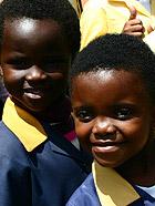 南非游 看欢乐的童年冰火两重天