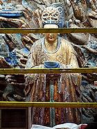 重庆大足精美绝伦的宝顶山石刻