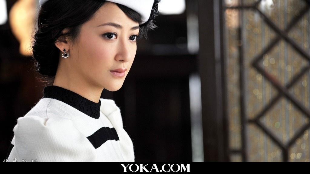 影视明星 美女演员陈紫函近照