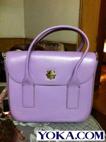 gucci紫色帆布包
