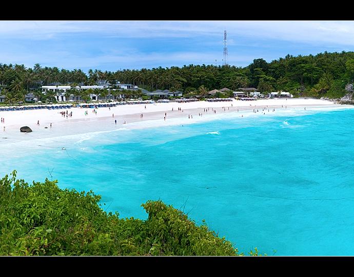 泰国皇帝岛 在碧海蓝天间尽情放纵
