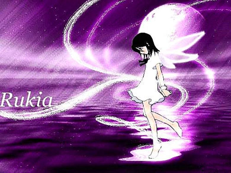 手绘紫色头像女生唯美图片
