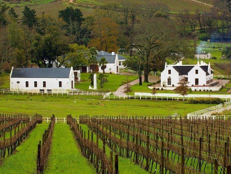 南非蒙太古葡萄酒风景图