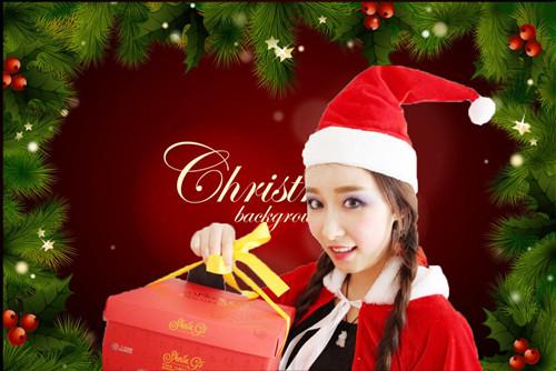 【make-ups西餐慎】圣诞HAPPY,萌妹化身圣诞老人来送礼~ - 西餐慎 - 西 餐 慎