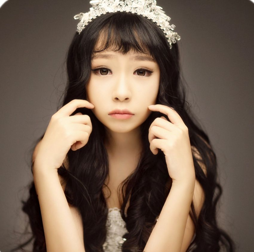 【颀颀】 做你最美的公主 淡雅烟熏新娘妆