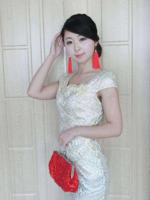 【兔纸】简易中式新娘妆