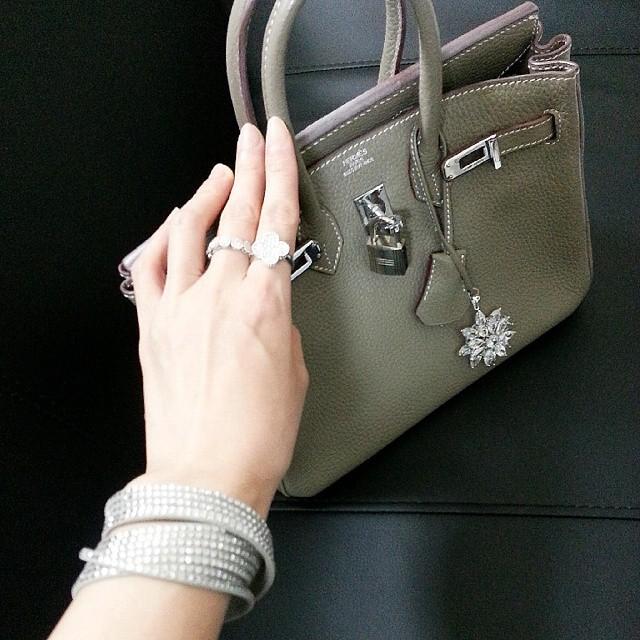 从LV到Rolex 包包饰品一起晒