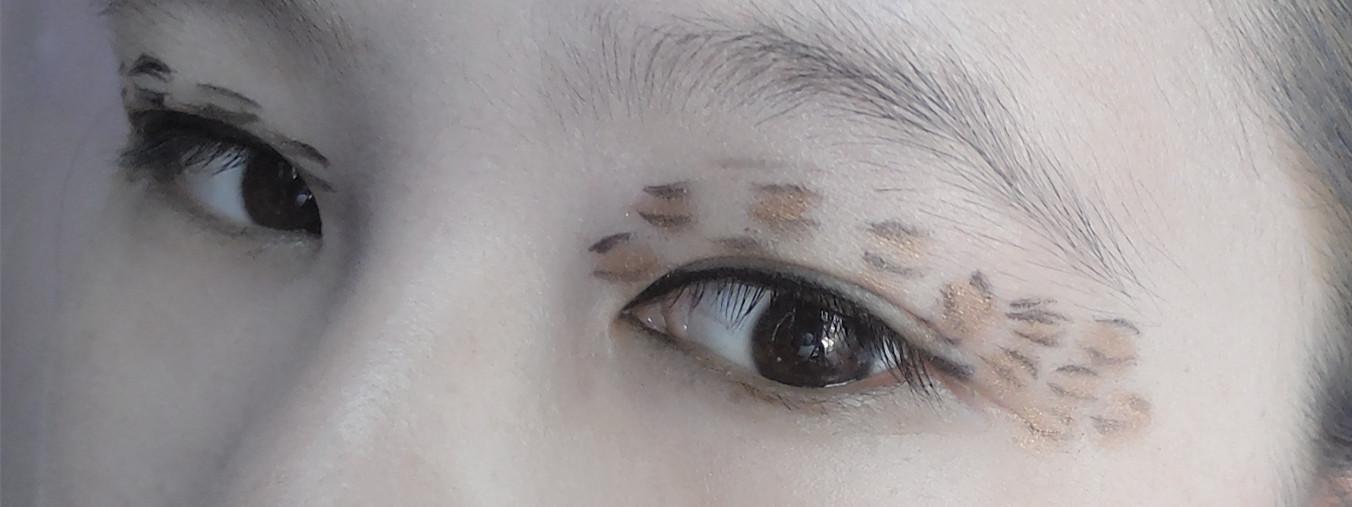 狐狸眼妆的画法图解
