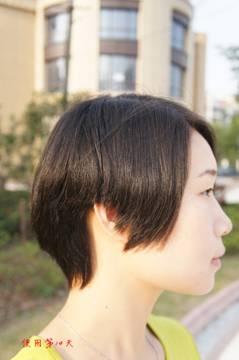 短发依然精彩,在家坐享沙龙级美发