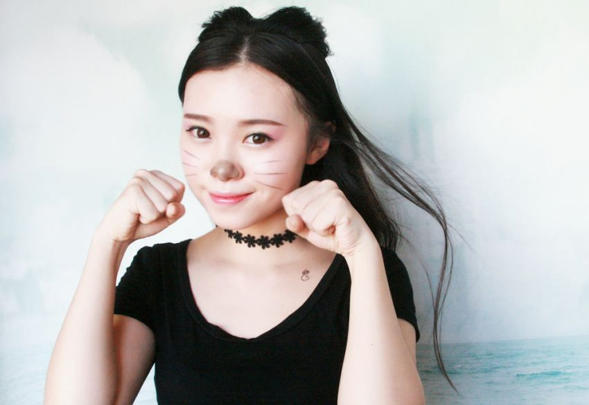 【毛豆】温柔萌猫妆,可爱惹人爱