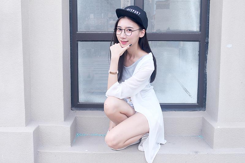 小斤斤【JOYSPORT棒球帽,搭出时尚感】