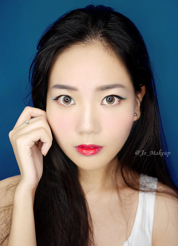 【JO】偷师时装周模特妆容, 提升高冷气场