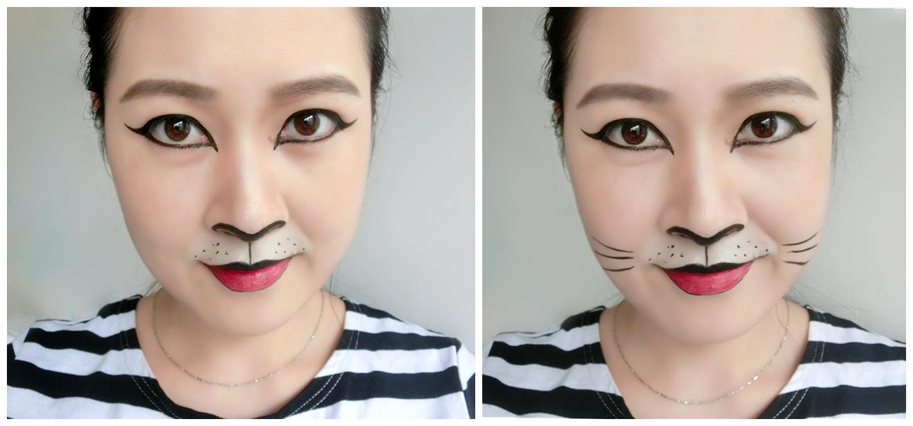 可爱猫妆容图片大全
