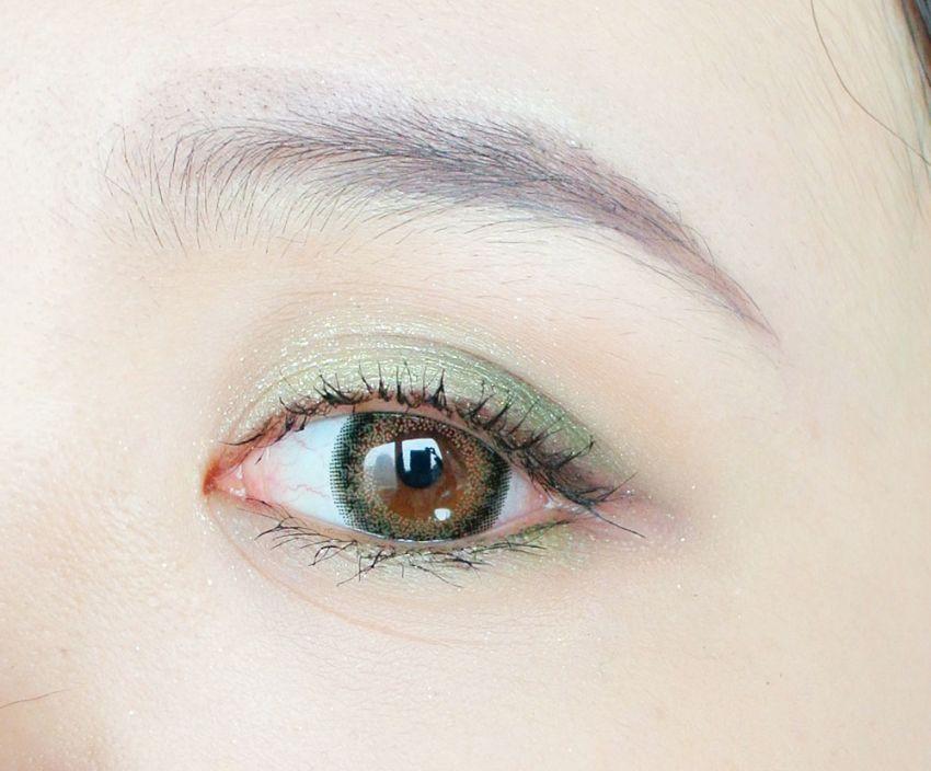 【毛豆】绿芙精灵圣诞妆,冬日里耀眼的小精灵