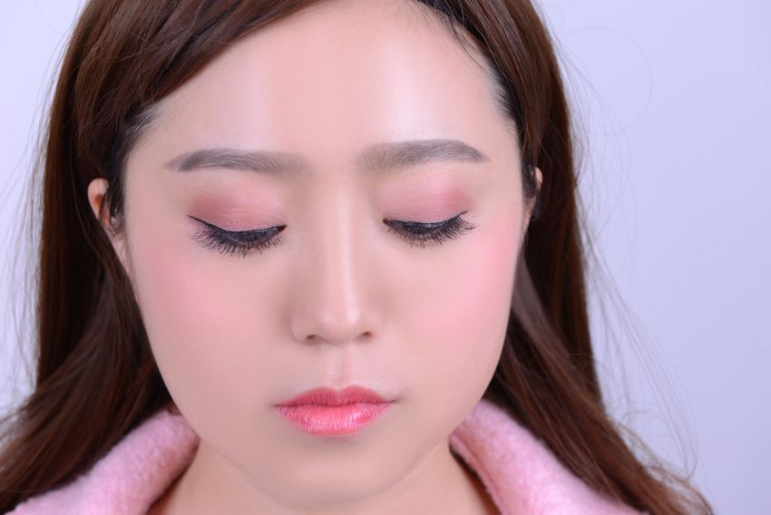 【袁一朵Amy】教你打造一款不浮肿的粉色眼妆( 选择色彩特重要)