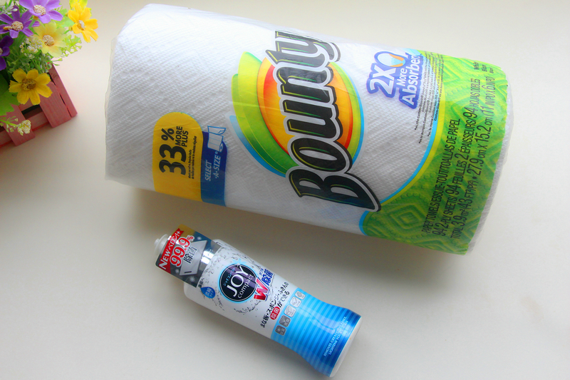 【Rita希媛】厨房好搭档JOY浓缩智能洗洁精&Bounty帮庭厨房用纸