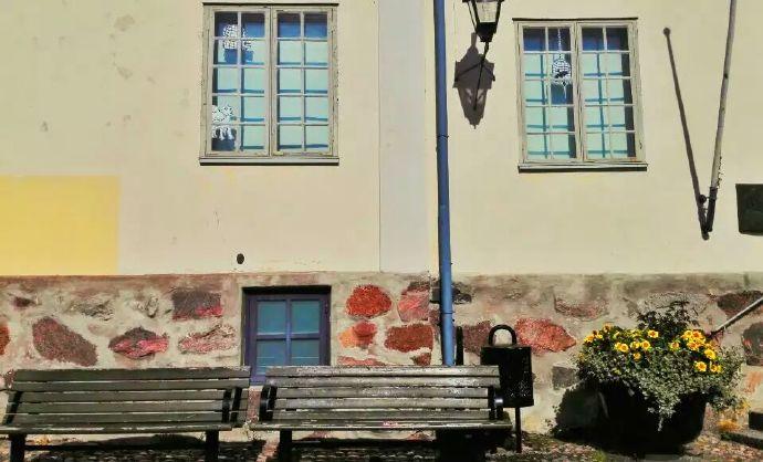 圣诞老人的故乡有个彩色的小镇波尔沃