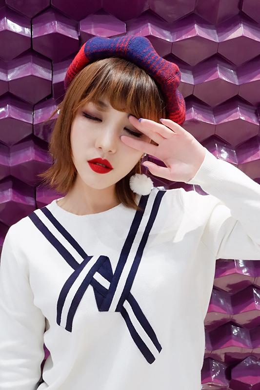 【允妍】深邃酒红混血微醺妆