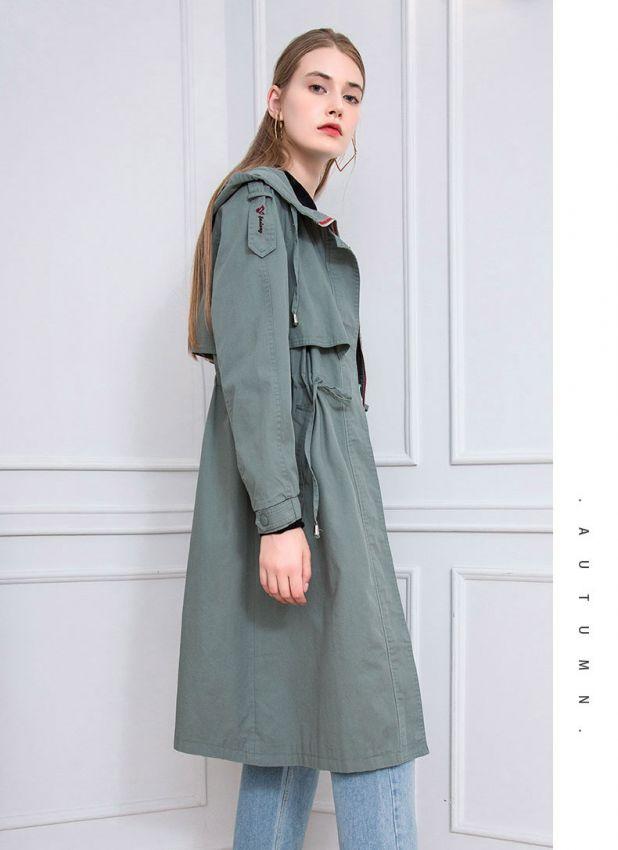 2019秋裝風衣篇 | 穿風衣的女人,等風來也追風去